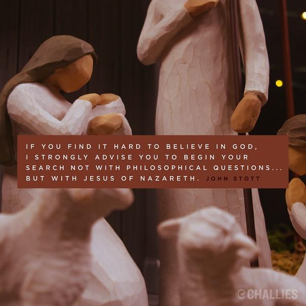 John Stott on Jesus