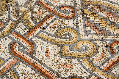 Mosaics at Capernaum