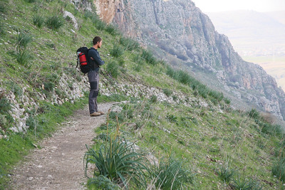 The trail down from Mt. Arbel