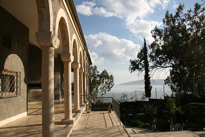 Church of the Beatitudes on the Mount of Beatitudes
