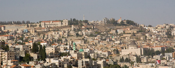 Nazareth view from Mt. Precipice