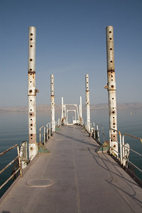 Dock on the Sea of Galilee, Ginosar
