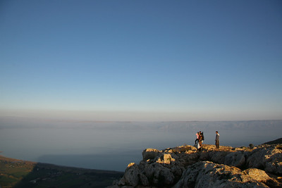 Sunset at Arbel Cliffs