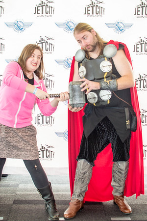 Jet City Comic Con 2014 Photo Booth