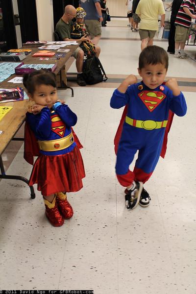 Supergirl and Superboy