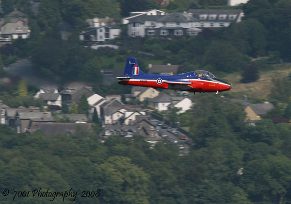 XW325/G-BWGF Jet Provost - 26th July 2008.