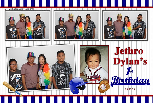 Jethro's 1st Birthday (Fusion Photo Booth)