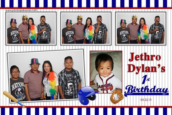 Jethro's 1st Birthday (Fusion Photo Booth)