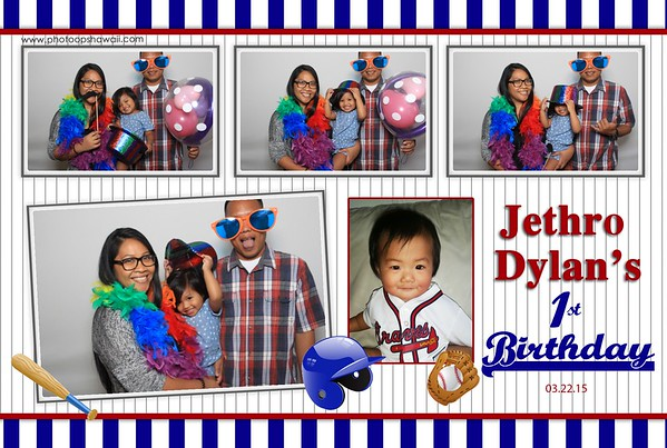 Jethro's First Birthday (Fusion Photo Booth)