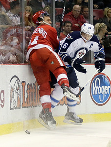 Jets Red Wings Hockey