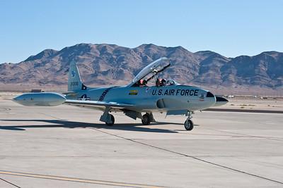 T-33 jet trainer.