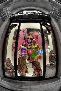 Las Vegas Strip: Agent Provocateur Window Display