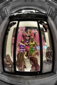 Las Vegas Strip: Agent Provocateur Window Display
