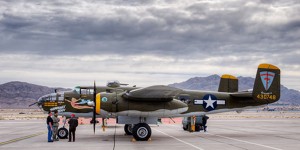B-25 Mitchell Bomber.  www.b25.net/
