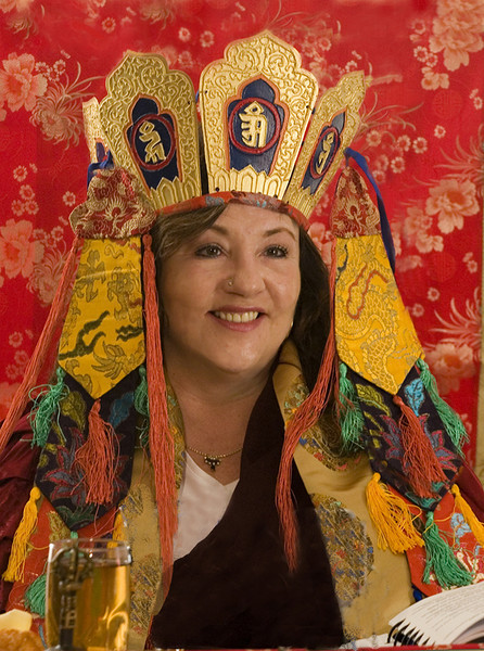 Jetsunma Ahkon Lhamo - Dakini Day 2007, © Wib Middleton