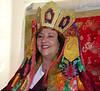 Jetsunma Ahkön Lhamo, smiling, by Konchog Norbu 2007