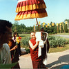 TK-45-11 Ven Gyatrul Rinpoche carries the kapala inside, by Ted Kurkowski
