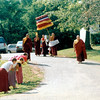 WM-84-11 HH penor Rinpoche leads the kapala procession with Ven. Gyatrul Rinpoche carrying the kapala, by Wib Middleton.