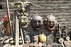Shop in Nepal selling masks, malas, incense, instruments and just about evrything else, by Mannie Garcia