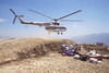 Helicopter at Maratika, by Mannie Garcia