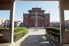 Shechen Monastry courtyard, Kathmandu, Nepal, by Mannie Garcia