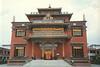 Shechen Monastry front view, Kathmandu, Nepal, by Wib Middleton