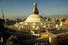 Bouda Stupa at Kathmandu, Nepal - by Mannie Garcia