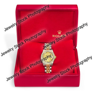 Red Rolex Box Color Corrected