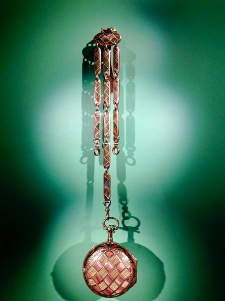 Antique Enameled Pocket Watch