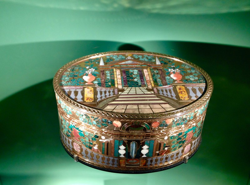 Antique Enameled Box