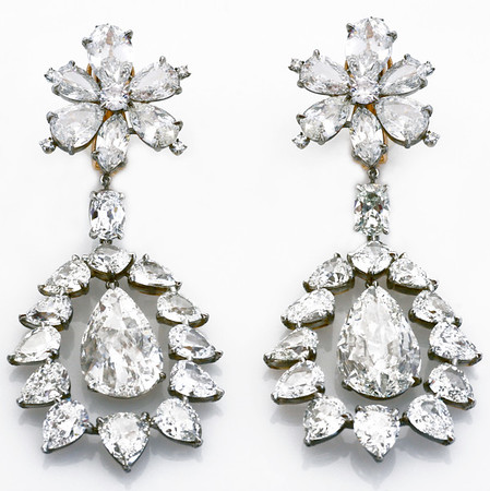Unique Diamond Earrings