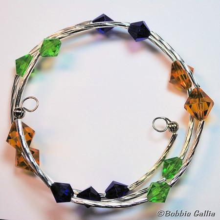 Mardi Gras Wrap Bracelet, B0902-29