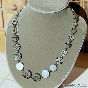 N0812-03, Dalmatian Jasper Necklace