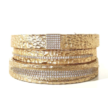 Stacked Bracelets , what a statement!