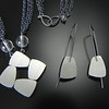 This set shows the jewelry of Bree Richey featured at Smith Galleries on Hilton Head Island. Call Smith Galleries at 800.272.3870 to order.