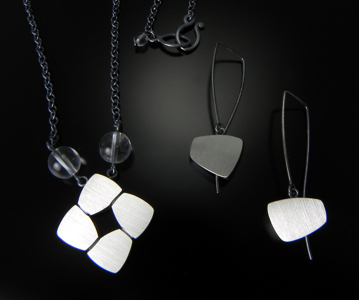 Jewelry by Bree Richey at Smith Galleries BRD-N10874TCQS & BRD-E1087DSH