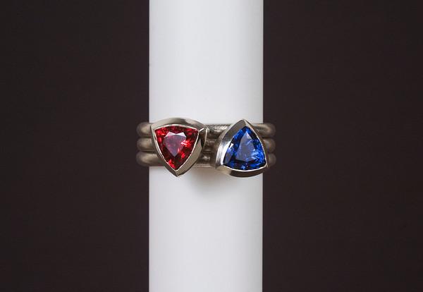 Monica • Modular 5 ring set