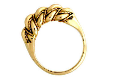 Namejs gold with double band