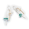 Earring MAR/EM473 - Sterling, Gold Fill, Sea Glass - $96<br /> Call 800.272.3870 to order. Pricing and availability subject to change without notice.