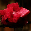 rodocrosite  crystals.