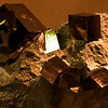 """These iron pyrite cubes from Brazil were perfect cubes from 3 inches down to 1/2""""."""