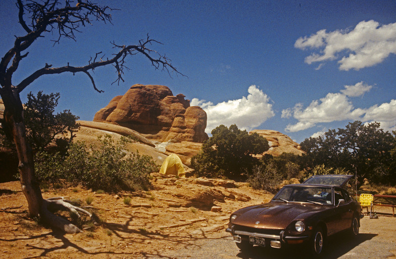 Some where in Utah in the 80's. No people great camping.