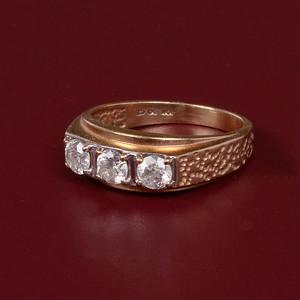 3 Diamon Ring #2