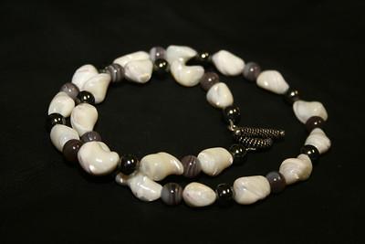 Pearl & Hematite 003