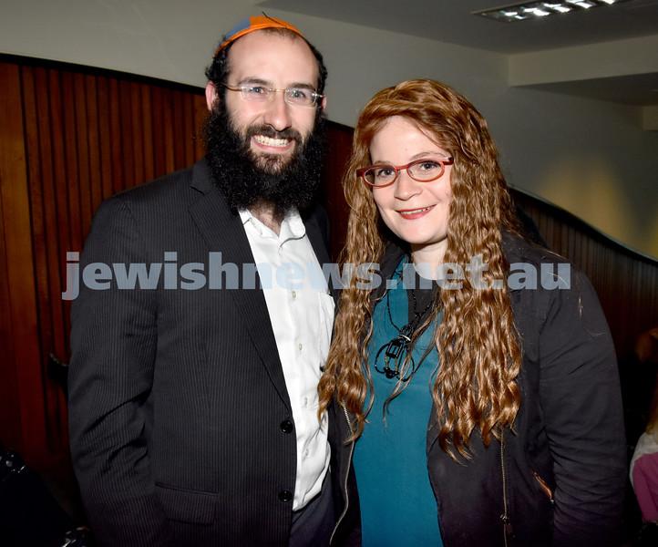 Jewish Changemaker Awards. Chida and Rochel Levitansky. Pic Noel Kessel