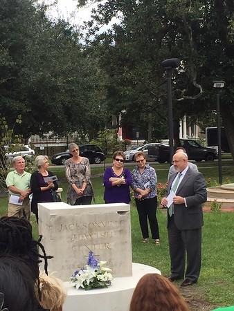Jewish Cornerstone Dedication 10-11-2015