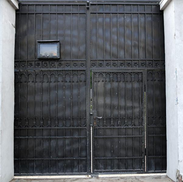 Warsaw Jewish Cemetery Gate