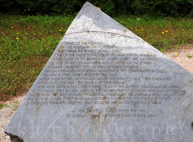 Warsaw Ghetto Fighters Memorial