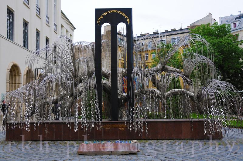 Budapest Dohany St. Synagogue Holocaust Memorial