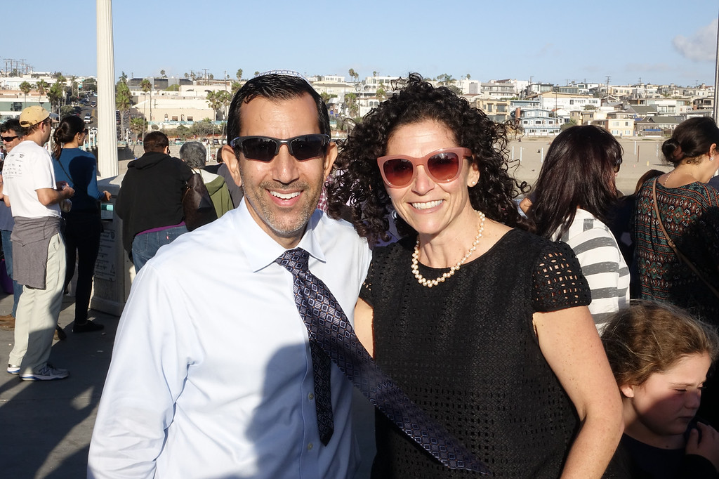 South Bay Rabbi's Joshua Kalev and Leah Lewis